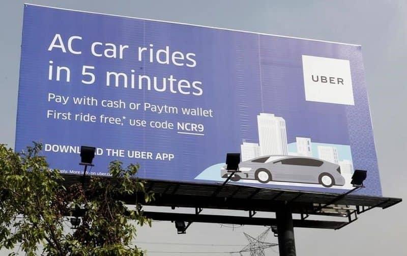 Uber Ad in Kolkata