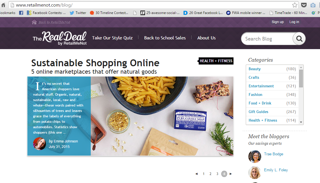 Retail Me Not Blog | Harneet Bhalla